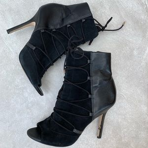 Sam Edelman Suede leather booties